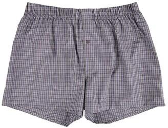 Hanro Fancy Woven Boxer (White) Men's Underwear