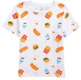 Kid Dangerous Boy's Fast Food T-Shirt