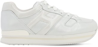 Hogan 50mm H222 Leather Sneakers
