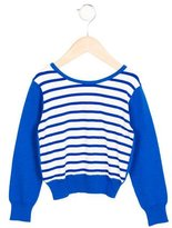 Junior Gaultier Girls' Striped Knit Cardigan w/ Tags