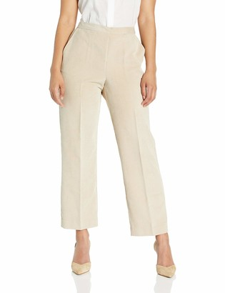 Alfred Dunner Women's Full Back Elastic Proportioned Short Pant