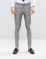 Grey Skinny Chino - ShopStyle UK