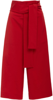 Tibi Tie Waist Shorts