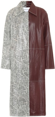 Stand Studio Exclusive to Mytheresa a Noni leather coat
