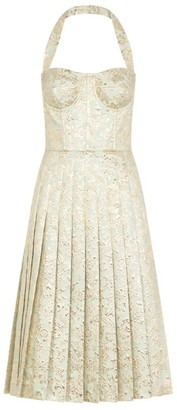 Dolce & Gabbana Jacquard Midi Dress