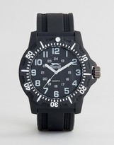 Slazenger Black Watch With White Markings