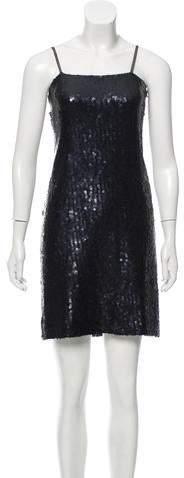 Chanel Sequined Mini Dress