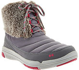 Ryka As Is Faux Fur Water Repellent Lace-up Boots - Addison