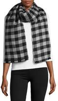 Lord & Taylor Reversible Blanket Wrap Scarf