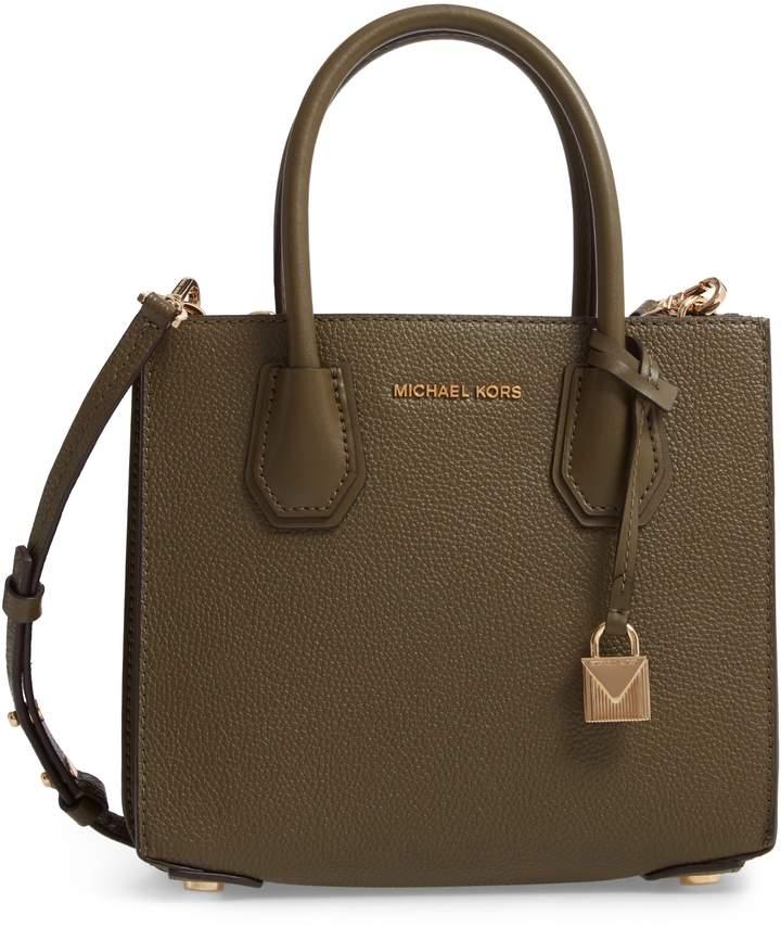 1aad4bf9f87718 Michael Michael Kors Medium Leather Tote Bag - ShopStyle
