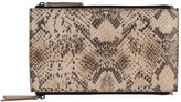 Lodis Women's Kate Exotic Lani Double Zip Pouch