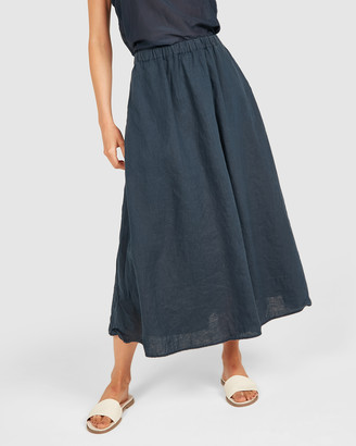 Primness - Women's Navy Skirts - Amalfi Skirt - Size One Size, 2 at The Iconic