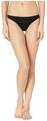 Smartwool Merino 150 Lace Thong (Black) Women's Underwear