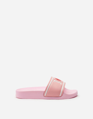 Dolce & Gabbana I Love Rubber Sliders