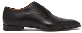 Christian Louboutin Greggo Leather Oxford Shoes - Mens - Black
