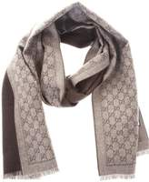 Gucci Double-face Wool Scarf
