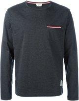 Thom Browne long-sleeve T-shirt - men - Cotton - 0