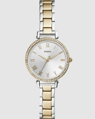 Fossil Kinsey Two Tone Analogue Watch