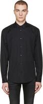 Versace Black Jacquard Shirt