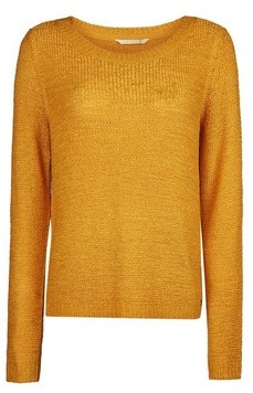 Dorothy Perkins Womens Only Yellow Fine Gauge Jumper, Yellow