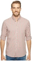 Kenneth Cole Sportswear - Long Sleeve Irridescent Check Shirt Men's Clothing