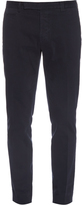 Fendi Slim-leg stretch-cotton chino trousers