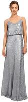 Donna Morgan Blouson Sequin Gown