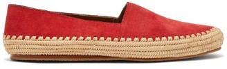 Casablanca Diego Suede Loafers - Red