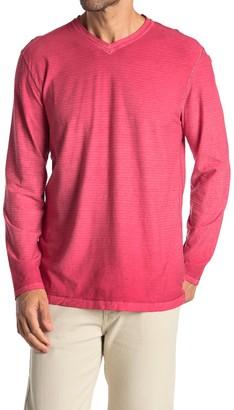 Tommy Bahama Cirrus Coast V-Neck Long Sleeve T-Shirt