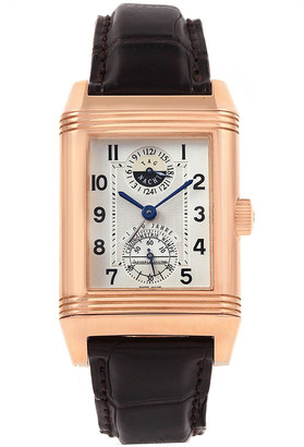 Jaeger-LeCoultre Jaeger LeCoultre Silver 18K Rose Gold Reverso Wempe Limited Edition 17/25 Men's Wristwatch 29MM