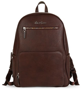 Robert Graham Lauda Pebbled Faux-Leather Backpack