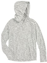 Zella Girl's Vinyasa Cutout Hooded Pullover