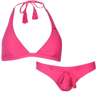 O'Neill Solid Halter Neck Bikini Ladies