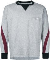 Factotum contrast sweatshirt