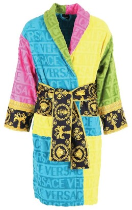 Versace Baroque Multicoloured Robe (Extra Large)