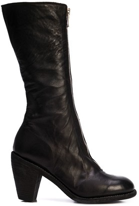 Guidi mid-calf zipped boots