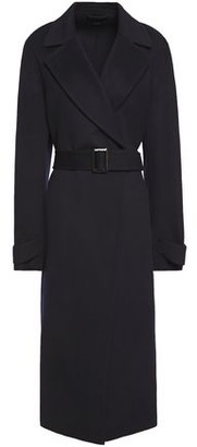 Joseph Belted Brushed Wool And Cashmere-blend Coat