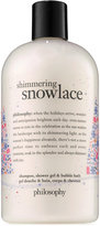 philosophy Shimmering Snowlace Shampoo, Shower Gel and Bubble Bath
