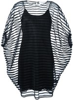 Gianluca Capannolo sheer striped dress