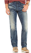 Silver Jeans Co. Eddie Relaxed-Fit Faded Stretch Jeans