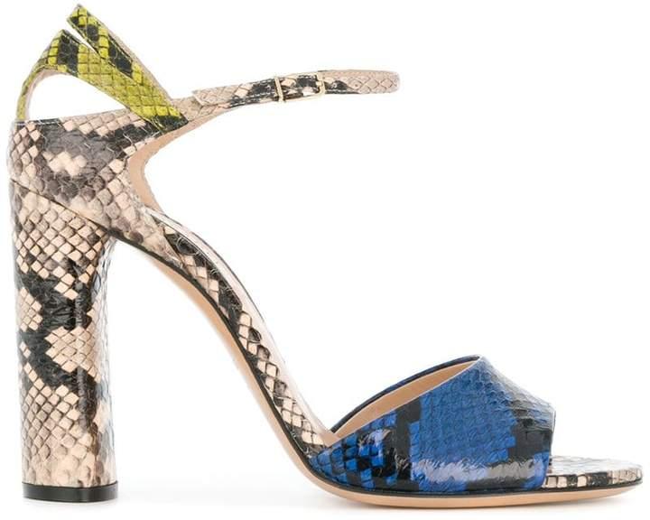 Casadei snakeskin sandals