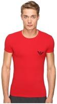 Emporio Armani Xmas-Mirror Effect Eagle T-Shirt Men's T Shirt