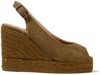 Castaner Beli Cotton-canvas Wedge Espadrille Sandals