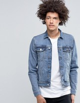 Cheap Monday Staple Denim Jacket Blue Block