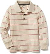 Old Navy Striped Jersey Polo for Toddler Boys