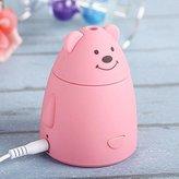 Cute Mini Bear Kids Room Air Purifier - Air Freshener For Your Little Ones   Plug-In USB Air Diffuser - Epiktec