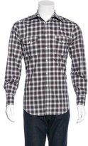 Michael Bastian Plaid Woven Shirt