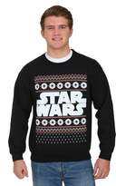 Mighty Fine Star Wars Men's Imperial Christmas Print Sweatshirt