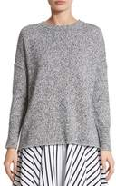 ADAM by Adam Lippes Women's Marled Cotton, Cashmere & Silk Sweater