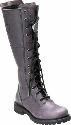 "Harley-Davidson Women's Rr-Walfield/Grey 14"" Lace Up Boot"